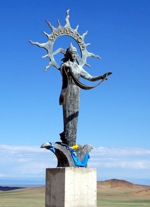 Statue in Ulaangom